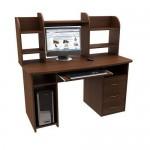 Стол компьютерный с надстройкой и тумбой KRS-Стандарт